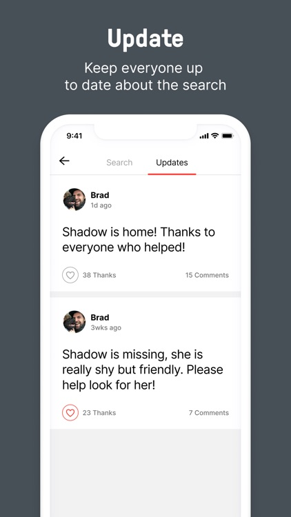 Shadow - Find a Lost Dog