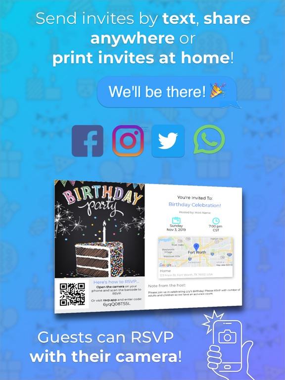 Invitd Invitation Maker & RSVP screenshot