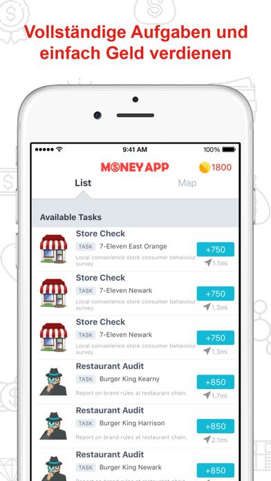 Geld App - Bargeld BelohnungenScreenshot von 3