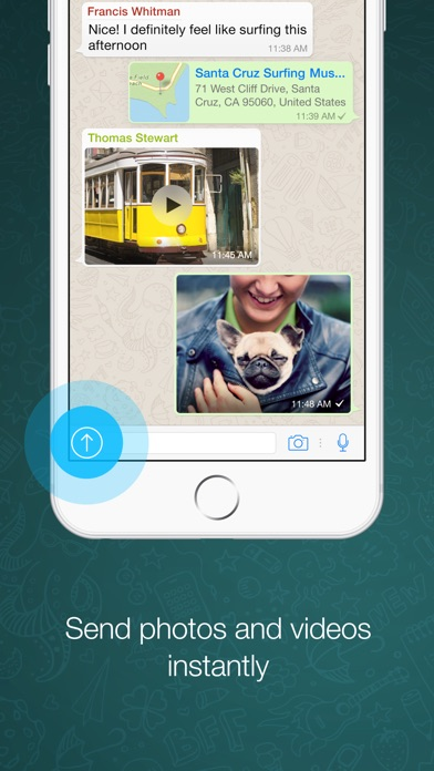 Screenshot for WhatsApp Messenger in Poland App Store