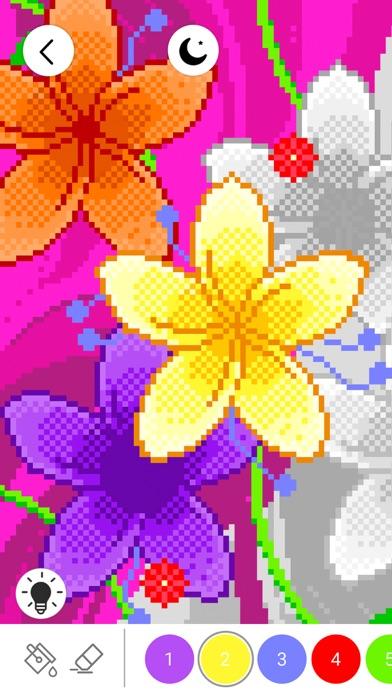 番号でぬりえ: ピクセル着色ゲームのおすすめ画像2