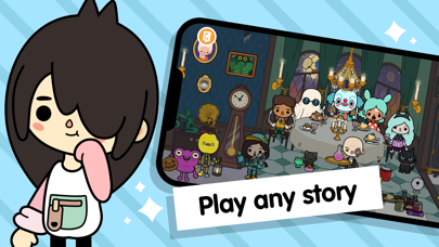 Toca Life World: Build stories Screenshot
