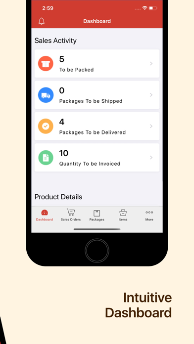 Inventory App - Zoho InventoryScreenshot of 2