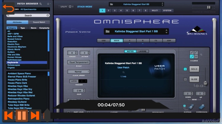 Xtreme Course For Omnisphere 2 screenshot-3