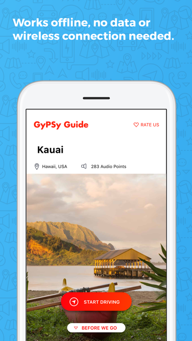 Kauai GyPSy Guide Screenshot