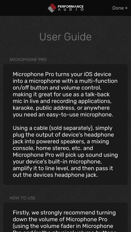 Microphone Pro screenshot-3
