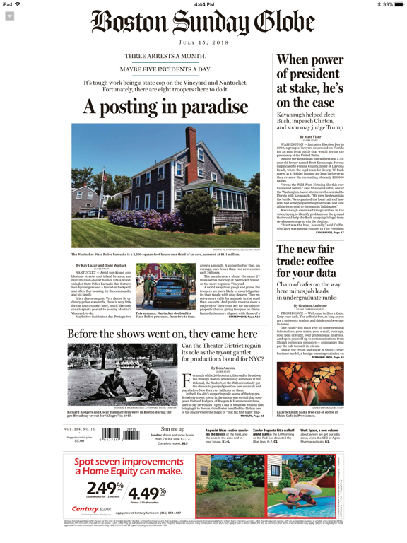 The Boston Globe ePaperのおすすめ画像1