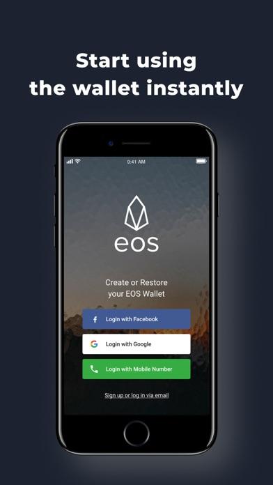 EOS(イオス)仮想通貨ウォレット: Freewalletのスクリーンショット6