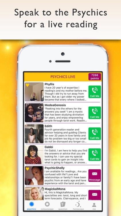 Psychics Live Horoscopes Tarot