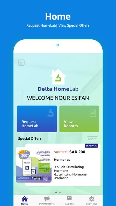 Delta HomeLab screenshot two