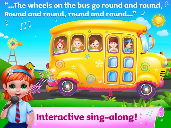 The Wheels On The Bus - All In One Educational Activity Center and Sing Along screenshot