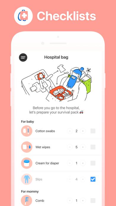 Hello Belly: Pregnancy Tracker Screenshot