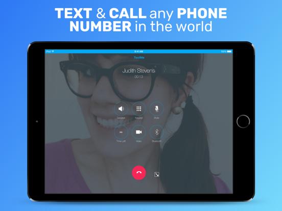 Text Me - Second numéro et SMS