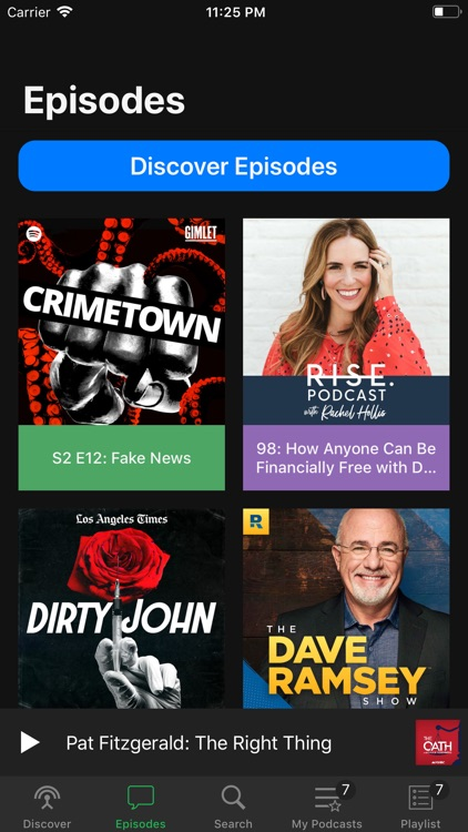 Pods - Podcast Player screenshot-6