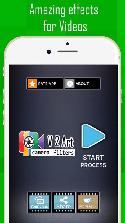 V2Art: video effects screenshot-4
