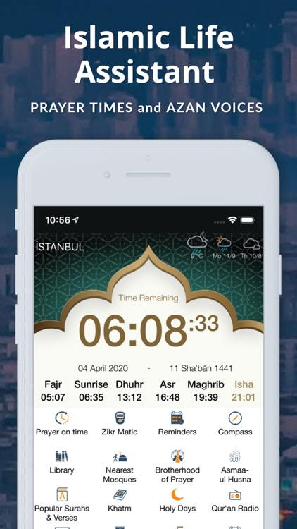 Azan Time Pro: Holy Quran screenshot-0