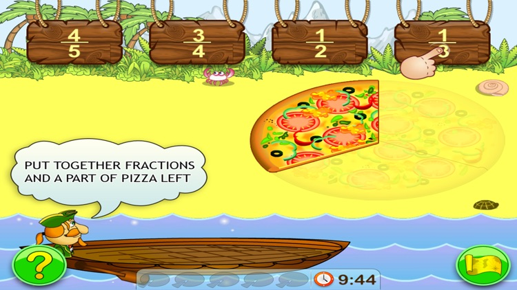 Fractions. Smart Pirates screenshot-3