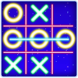 Tic Tac Toe Glow Puzzle Game