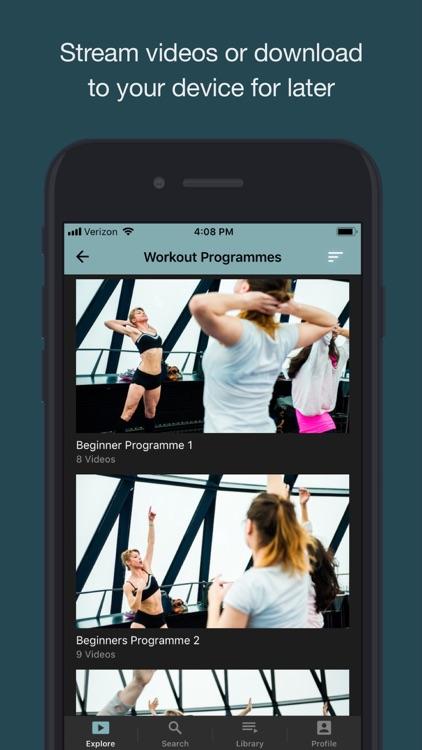 Sleek Ballet Fitness screenshot-3