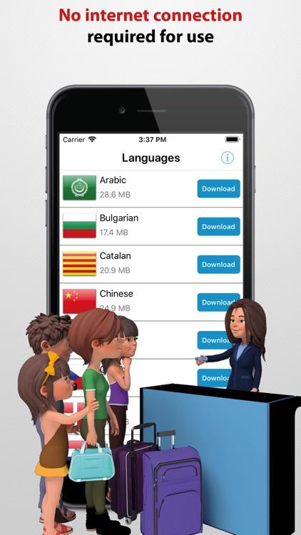 Travel Interpreter Phrasebook screenshot-8