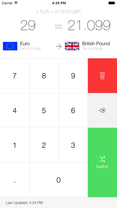 My Currency Converter Pro Screenshot