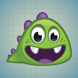 Sticker Me: Worm Dino