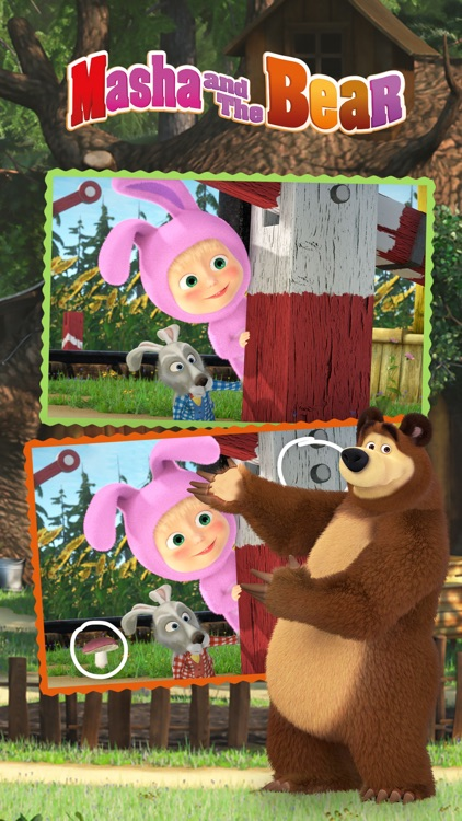 Masha and the Bear Differences screenshot-3