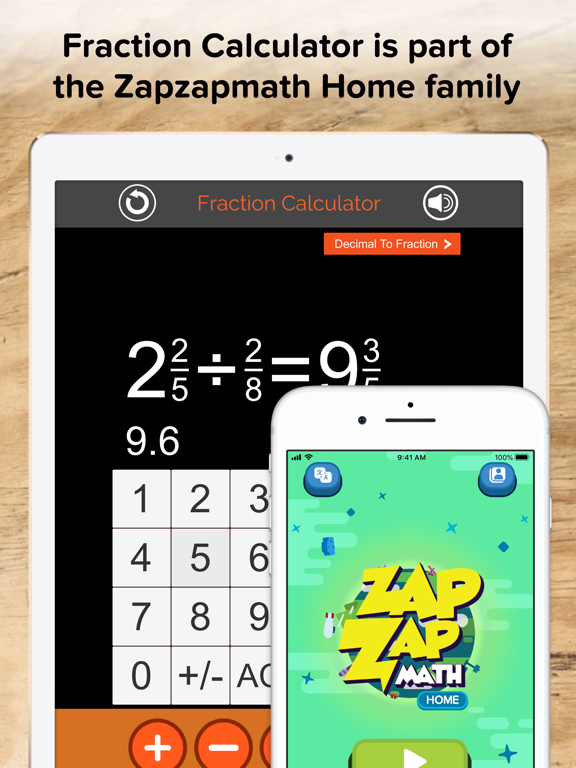 Fraction Calculator + Decimals | App Price Drops