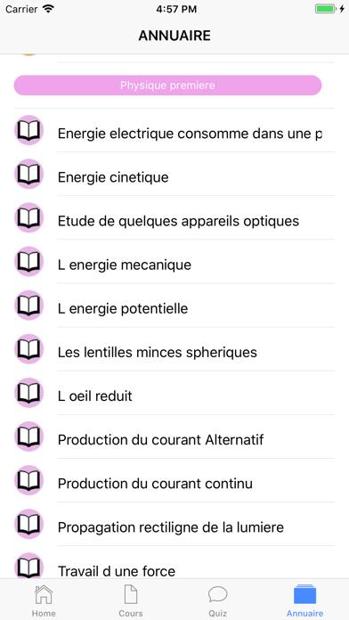 Physique Première ES screenshot 6