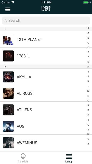 Screenshot for Lost Lands Festival App in Canada App Store
