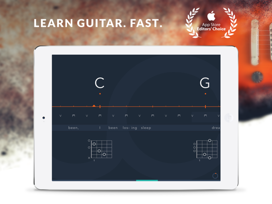 Uberchord – Learn Guitar Chords with Personalized Lessons, Tuner, and The Ultimate Chord Finder screenshot