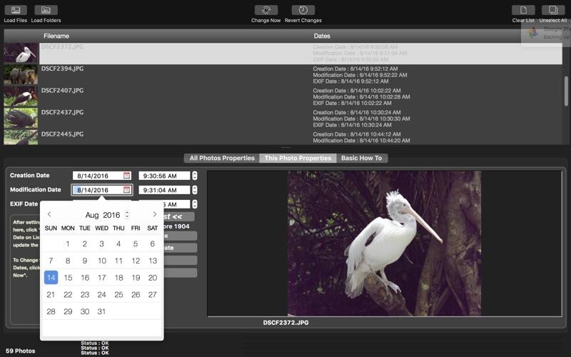 CM Batch JPEG Date Changer for Mac