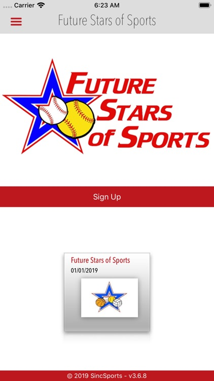 Future Stars of Sports screenshot-0