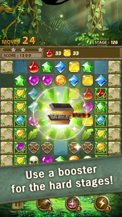 Jewels Jungle : Match 3 Puzzle screenshot-3
