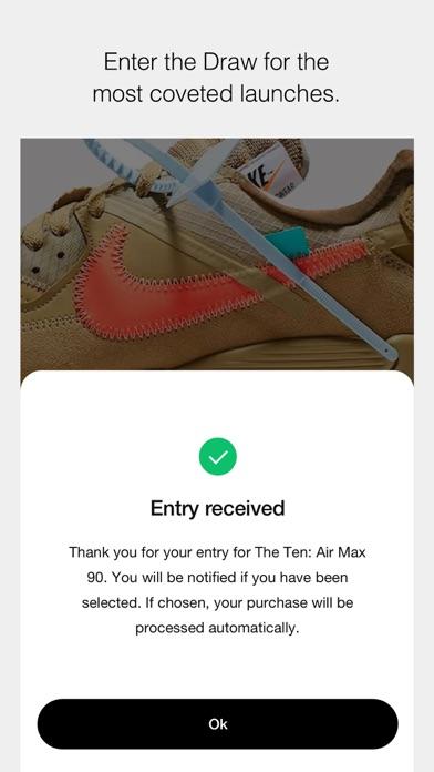 Nike SNEAKRS screenshot four