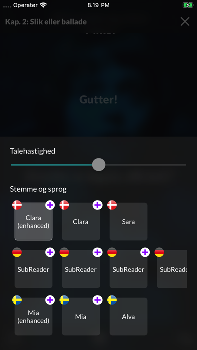 Screenshot for SubReader in Switzerland App Store
