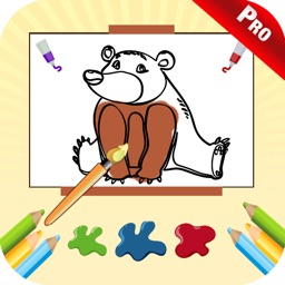 Baby Coloring Book Kids Games