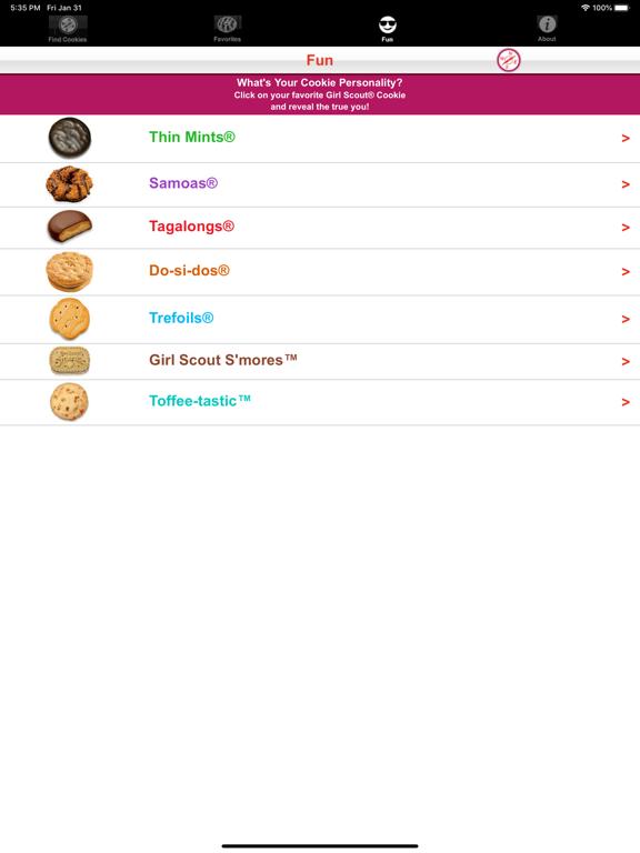 Girl Scout Cookie Locator screenshot 16