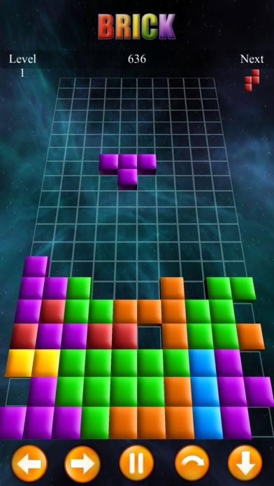 Brick Classic 3D screenshot one