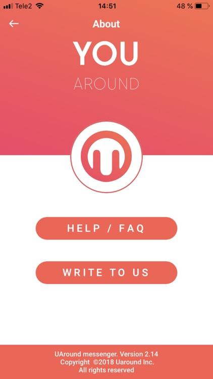 UAround - Private Messenger screenshot-7