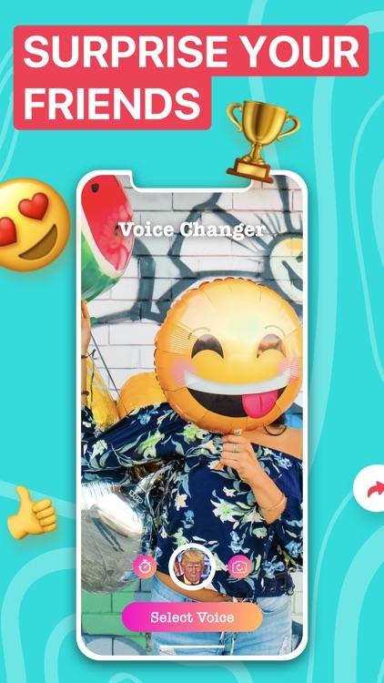 Voicer Famous AI Voice Changer screenshot-3