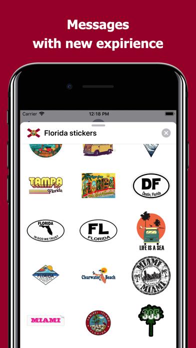 Florida emojis - USA stickers screenshot 3