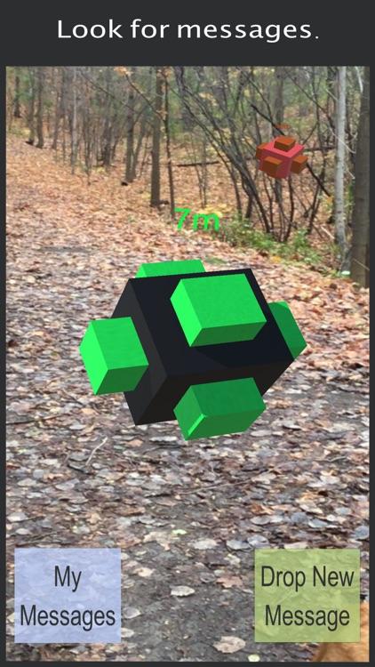 Message Hunt AR screenshot-0