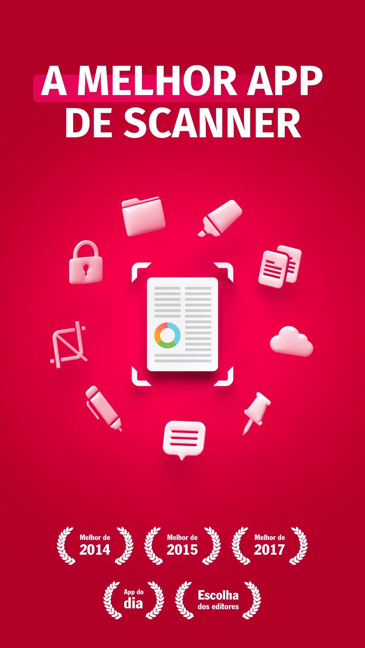 Screenshot do app Digitalizador - PDF, Fax, QR