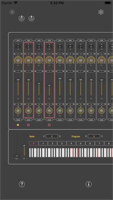 MIDI SWEET: Module Unit (AU) screenshot 1