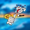 Crazy Cartoon Stickers