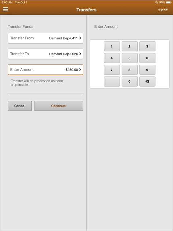 MBTC Mobile Banking for iPad screenshot-4