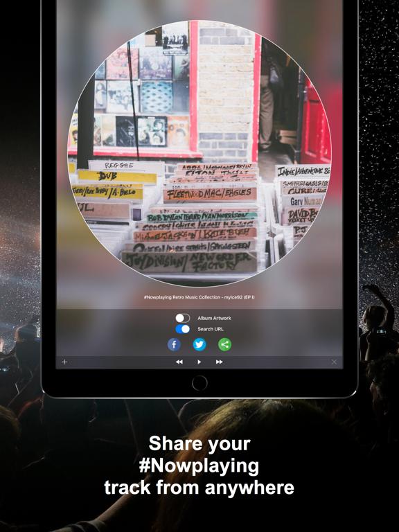 Screenshot #4 pour #Nowplaying - Tweet Your Music