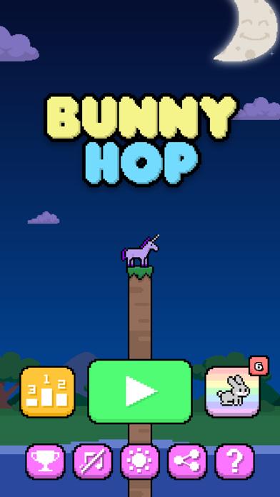 Bunny Hop~ Screenshot on iOS