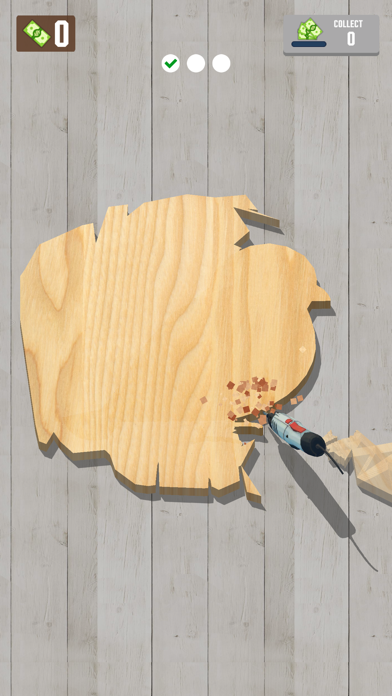 Woodcraft - 3D Carving Game screenshot 2